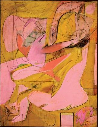 Willem de Kooning. Pink Angels. c. 1945.