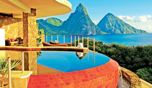 Jade Mountain- Saint Lucia's