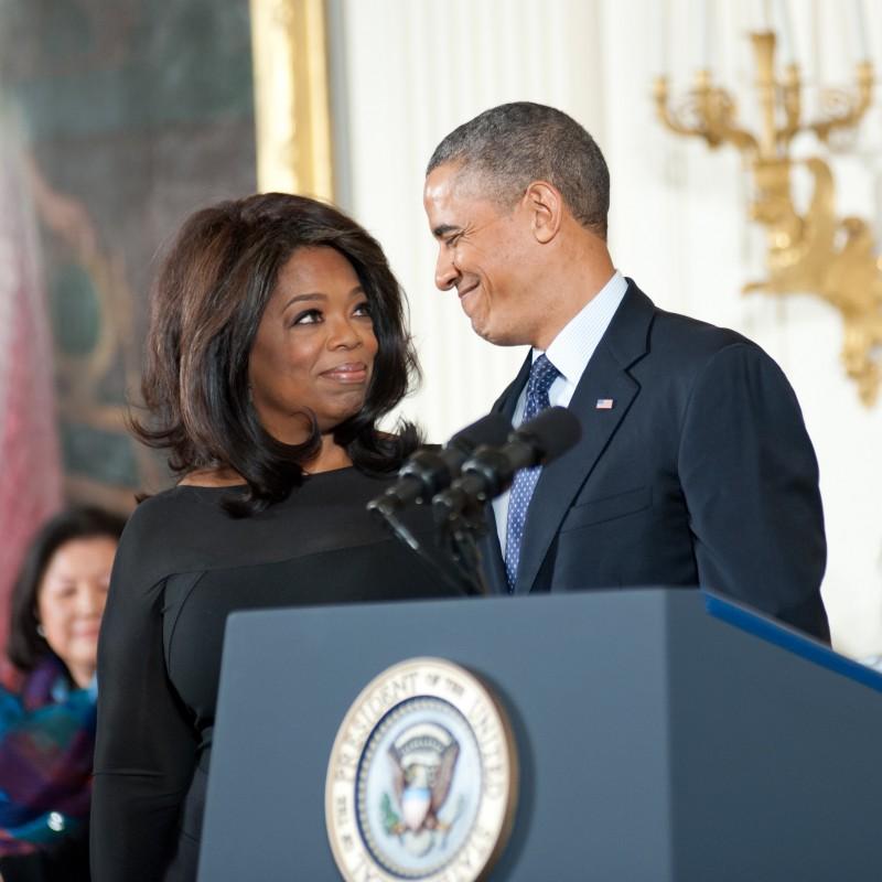 Celeb Travel Oprah and Obama