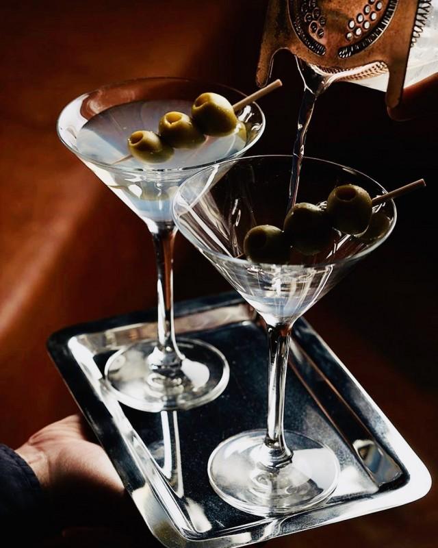 NYC Polo Bar Martinis