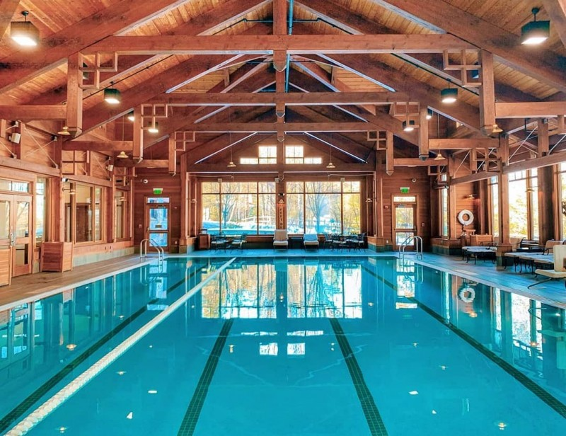 Families Mohonk Pool