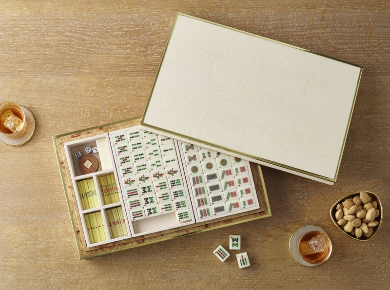 Aerin Shagreen Mahjong